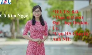 Cô Hoàng Kim Ngọc